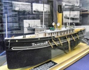 ship model, part of a large collection of models