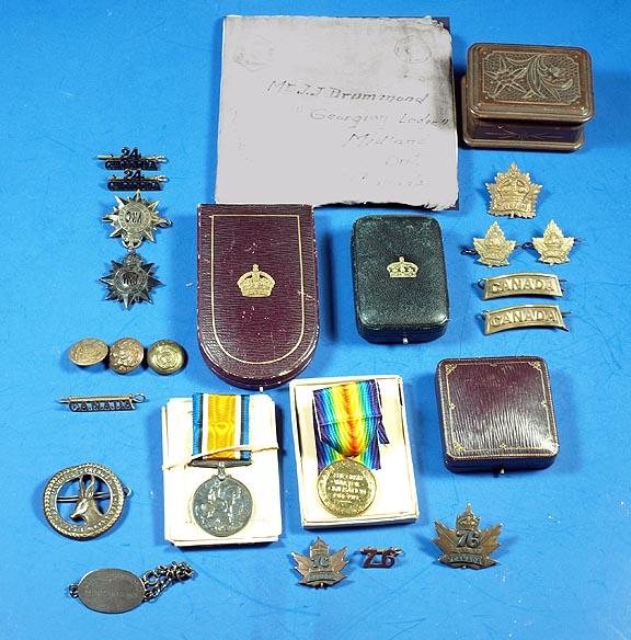 Drummond medals