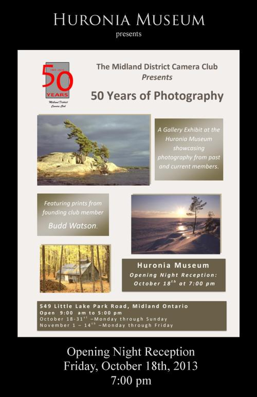 Midland District Camera Club 50th Anniversary