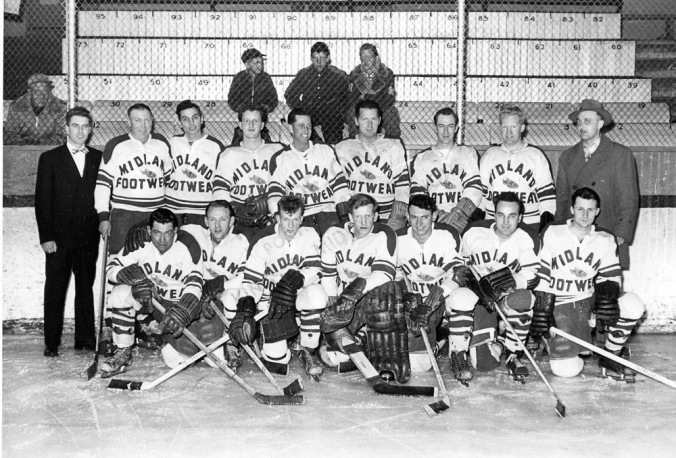 Legion Hockey team c1950