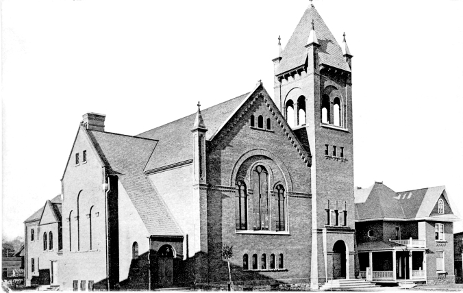 St. Paul's United Church, shortly after construction completed.