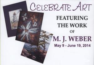 MJ Weber Poster