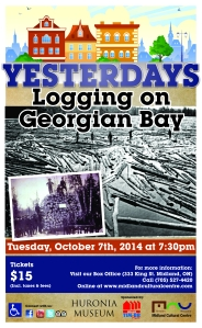 Yesterdays - Logging on Georgian Bay (2)