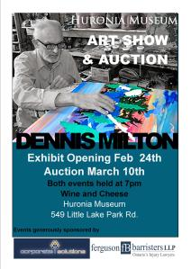 art-auction-flyer