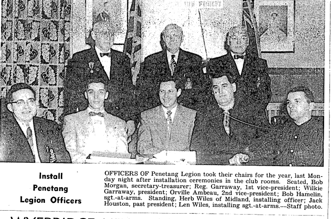 officers-penetang-legion-1957