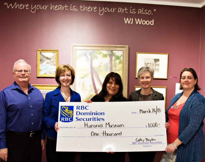 RBC Donation Huronia Museum